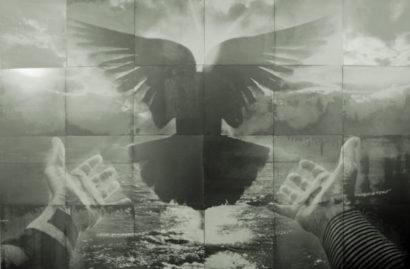 Flood (300cm x 200cm - screenprint on steel)